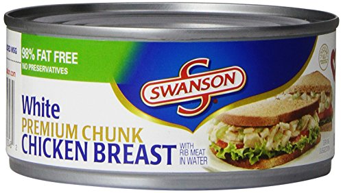 Swanson White Premium Chunk Chicken Breast, 9.75 Ounce (Pack of 12)