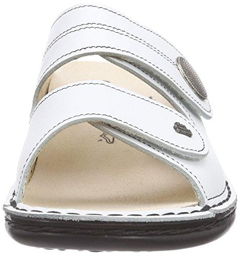 bianco weiss Finncomfort Tacco Donna Bianco Sansibar Sandali Con 0vraYq0