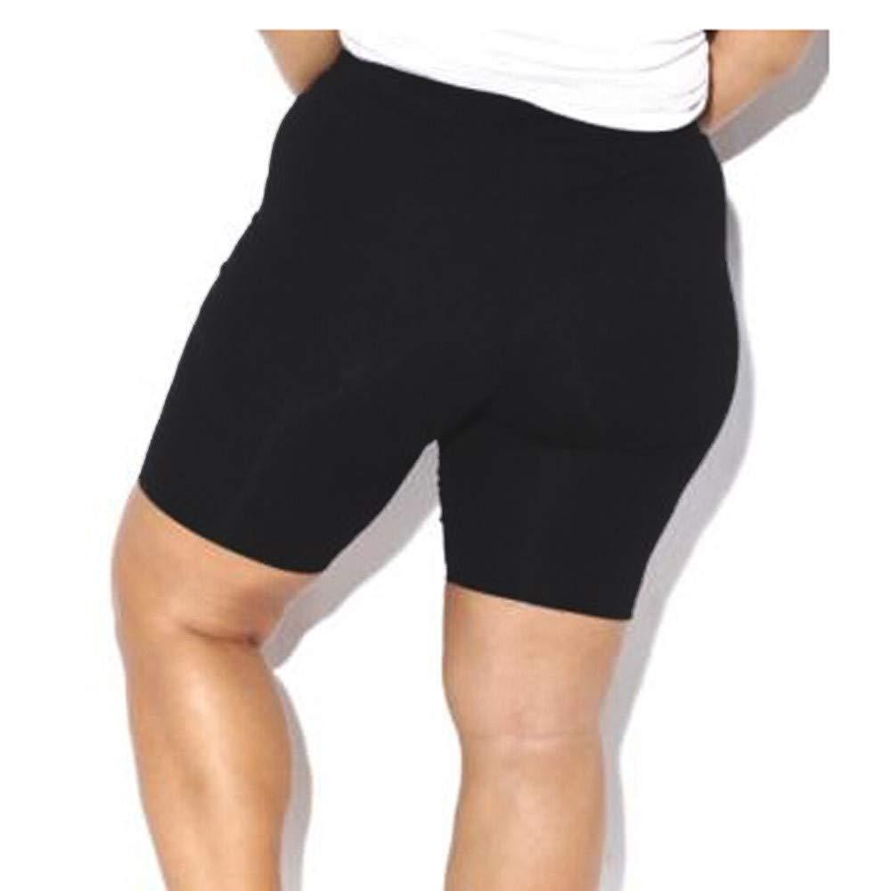 Modaworld Pantalones cortos de verano Mujer deportivos Leggings de elasticidad para mujer Pantalones de gimnasia activa Pantalones cortos de ciclismo