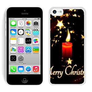 2014 Newest Iphone 5C TPU Case Christmas Candle White iPhone 5C Case 2