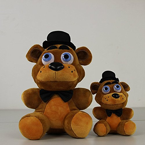 Amazon.com: 4Pcs Five Nights At Freddys 4 FNAF Freddy Fazbear Bear Foxy Chica Duck Bonnie Rabbit Kawaii Plush Stuffed Toys Peluches Doll: Baby