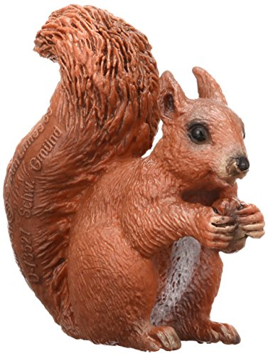 Schleich Eating Squirrel Toy Figure (Schleich Squirrel)
