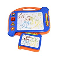 Yanqueens Magnetic Drawing Board for Kids – 2 Magna Doodle Board with Erasable, Great for Writing, Painting, Sketching and Daily Use, Perfect Educational Toys for Beginner