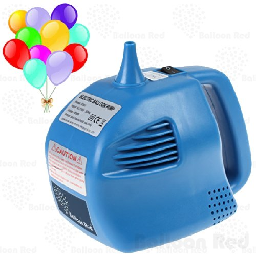 Household Portable Electric Balloon Air Inflator Blower Pump (Super Fast, Single Nozzle), Blue