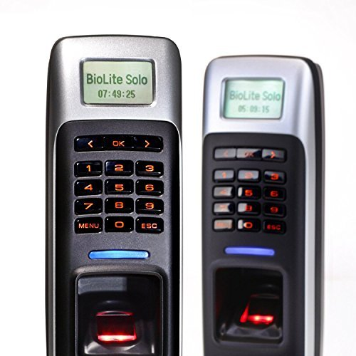 Suprema Biolite Solo Access Control Time Attendance Standalone Outdoor Fingerprint Lock by Suprema BioLite Solo Access Control Time Attendance Standalone Outdoor Fingerprint Lock