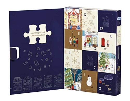 Gibsons Christmas Street: 12 Days of Christmas Calendar (12 x 80pc)