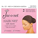 Jac-O-Net Chignon Bun Dark Brown Dark Brown