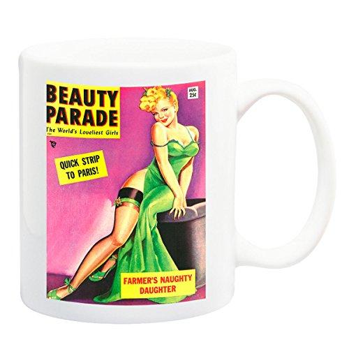 iPosters Beauty Parade 50s Magazine Cover Mug - 11 Fluid Oz