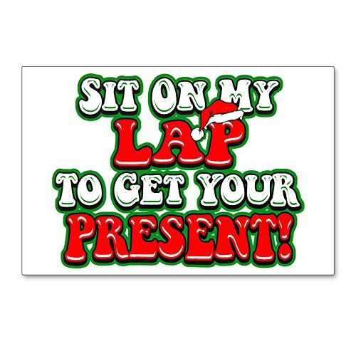 Postcards (8 Pack) Christmas Santa Sit On My ()