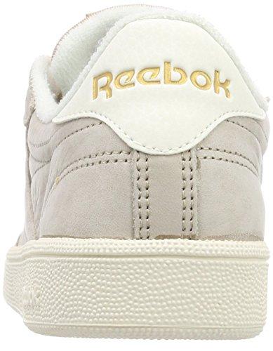 Beige de Corkchalkrbk VTG 85 C Reebok Club Tennis Brass Chaussures Femme wR6xAq