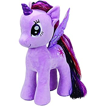 Amazon.com  Ty Beanie Baby – My Little Pony – Twilight Sparkle ... 03311ccf74b0