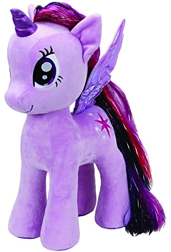 6d9a86bd6e2 Image Unavailable. Image not available for. Color  Ty ty90210 – Plush  Beanie Baby – My Little Pony – Twilight Sparkle