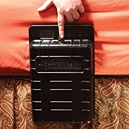 Streetwise Security Products Arms Reach Bedside Biometric Gun Safe, Black