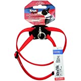 """Coastal Pet -Size Right Adjustable Harness Red 12 to 18 Inches, Width 3/8"""""""