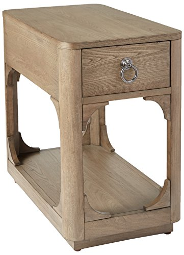 Park View by Bassett Marshall Chairside Table, Natural Elm Finish