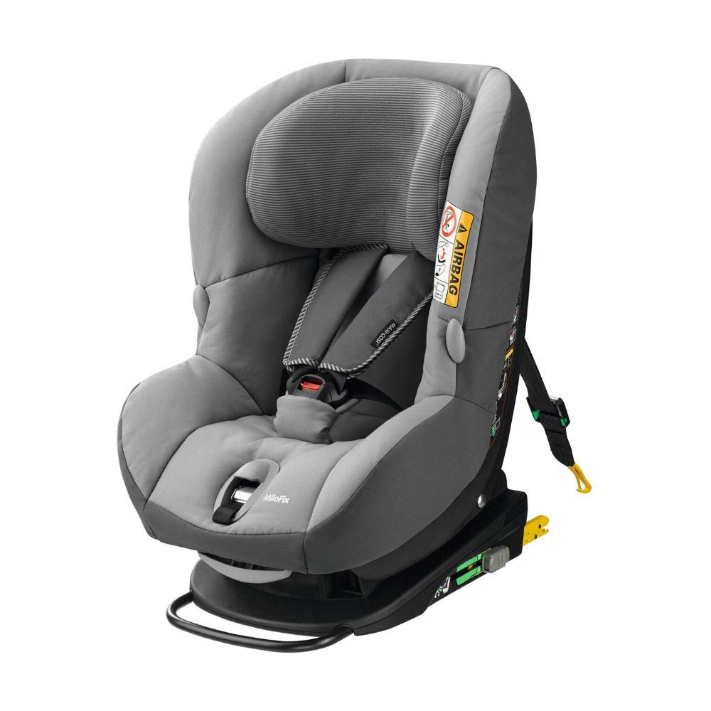 en venta 2eb67 9ee4d Maxi-Cosi MiloFix ISOFIX Combination Car Seat, Group 0+/1 car seat, Rear  and Forward-facing, 0-4 years, 0-18 kg, Concrete Grey