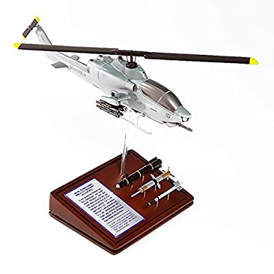 Mastercraft Collection Planes and Weapons Series Bell AH-1W COBRA USMC Model Scale:1/45