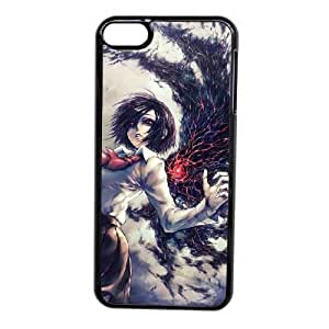 Custom made Case,Tokyo Ghoul Touka Cell Phone Case for iPod touch 6,Black Case With Screen Protector (Tempered Glass) Free S-7255747