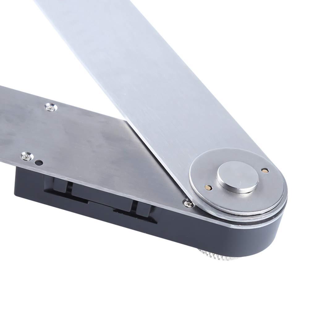 pantalla digital /Ángulo IP54 Prolongador de acero inoxidable Prolongador de /ángulo de carpinter/ía Regla de /ángulo de 360 grados multifunci/ón Fesjoy Prolongadores de construcci/ón