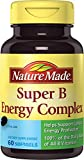 Nature Made Super B Complex Full Strength Softgel, 60 Count (Packaging may...