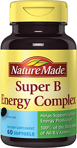 Nature Made Super B Complex Full Strength Mini Softgels 60 Ct