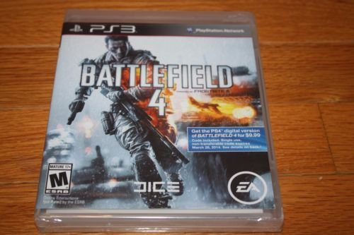 Price comparison product image Brand New Factory Sealed PS3 Battlefield 4 SHIP FREE US FAST