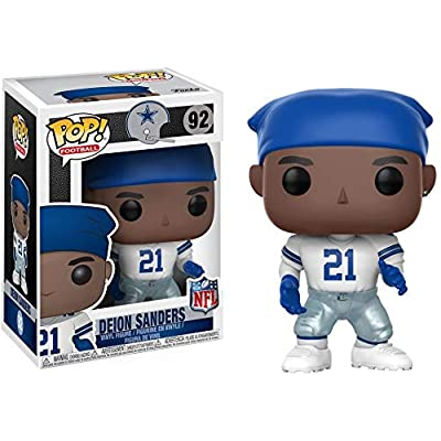 Funko POP NFL: Deion Sanders (Cowboys Home) Collectible Figure: Funko Pop! Sports:: Toys & Games