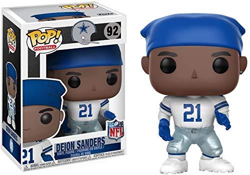 Funko POP NFL: Deion Sanders (Cowboys Home) Collectible Figure