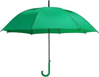 Colorata plastica automatica Crook Handle Umbrella / Brolly - Passeggiate Matrimonio esterna 13005
