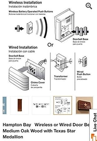 on hampton bay doorbell wiring diagram