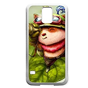 Teemo-002 League of Legends LoL case cover HTC One M7 - Rubber White