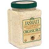Rice Select Jasmati Rice, 32 oz (Pack of 4)