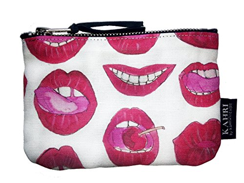 Sexy Red Lips Coin Purse