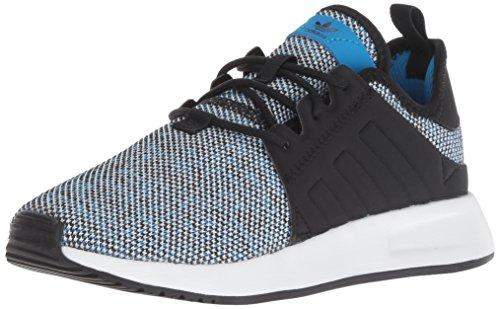 (adidas Originals Unisex X_PLR Running Shoe, Bright Blue/Black/White, 6 M US Big)