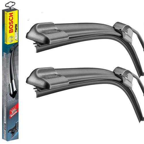 Front /& Rear kit of Aero Flat Windscreen Wiper Blades AD61-427|HQ14B