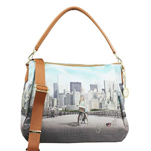 BORSA DONNA Y NOT? SHOULDER BAG BIG APPLE YES BAG J-321