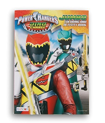 (Power Rangers Saban's Dino Charge Jumbo Coloring and Activity)