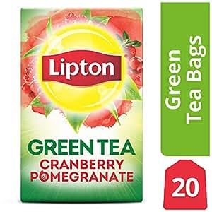 Amazon Com Lipton Green Tea Bags Cranberry Pomegranate