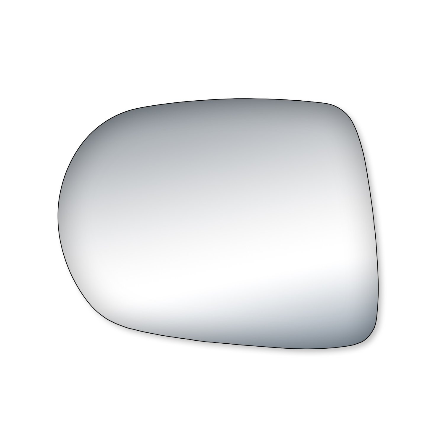 Fit System 90267 Lexus RX Passenger Side Replacement Mirror Glass
