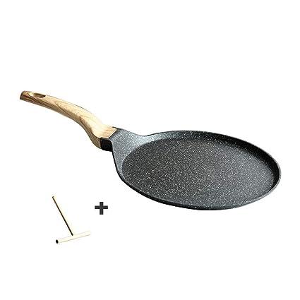 LULUDP Batería de Cocina Sartenes y ollas Panqueques Crepes Sartén ...