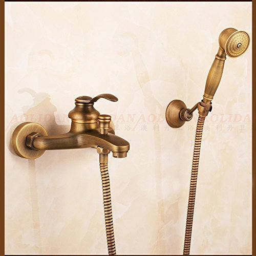 LightInTheBox Antique Copper Bathroom Shower Hand Bathtub Faucet Contemporary Rain Shower Hand Shower Included
