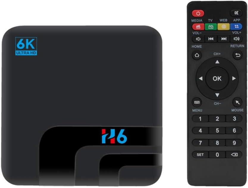 LFYPSM H6 Smart TV STB Android 8.1 6K STB 2GB 16GB H6 Quad Core 2.4GHz WiF: Amazon.es: Hogar