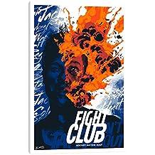 "iCanvasART Fight Club: Mischief. Mayhem. Soap Canvas Print, 40"" x 0.75"" x 26"""