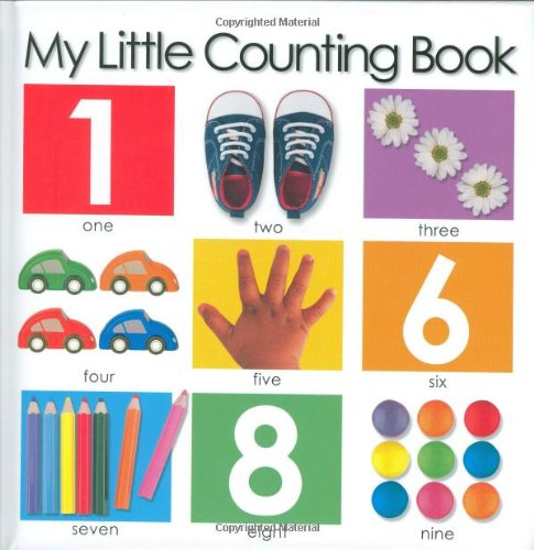my little numbers book - 5
