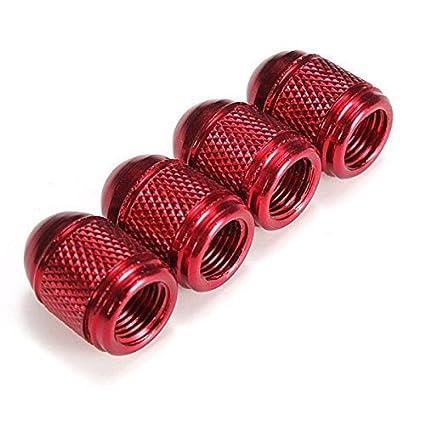 Bullet Dust Caps , Set Of 4 Fits Onto Car , Bike Or Motorbike Valves. (Purple) ARH Auto Accessories