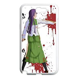 HIGHSCHOOL OF THE DEAD Samsung Galaxy N2 7100 Cell Phone Case White WOA
