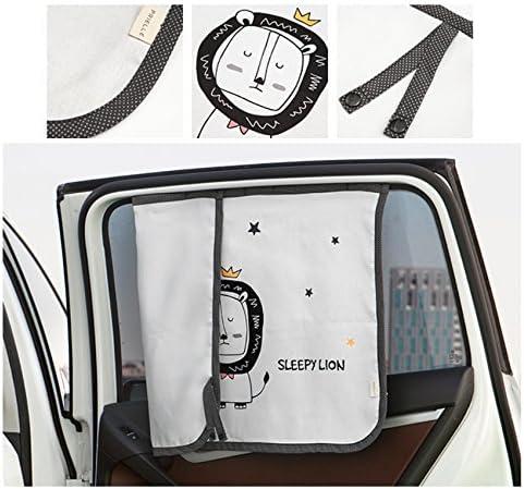 Cortina de parasol magn/ética para ventana lateral de coche para beb/és y ni/ños Protector de parasol