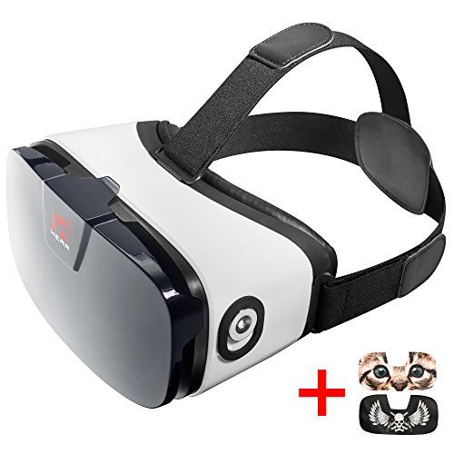 VR Headset - Virtual Reality Goggles by VR WEAR 3D VR Glasses for iPhone 6/7/8/Plus/X & Samsung S6/S7/S8/Note and other Android Smartphones with 4.5-6.3