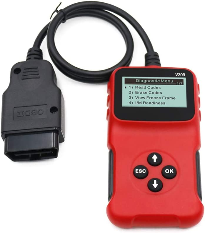 Walmeck Kfz-Fehlerdetektor Kfz-Diagnosewerkzeuge Lesekarte Autoreparatur-Autodiagnosewerkzeug Motorlicht-Schnittstellenscanner pr/üfen