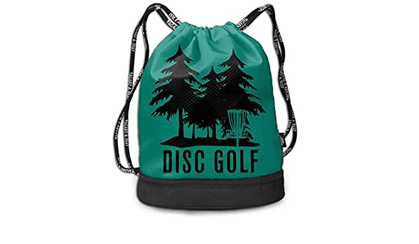0df4a173759d Amazon.com: HFTIDBC Disc Golf Pumping Rope Backpack Cinch Bag: Home ...
